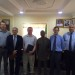 Executive Secretary with the delegates from Bookers Tate Sugar, UK
